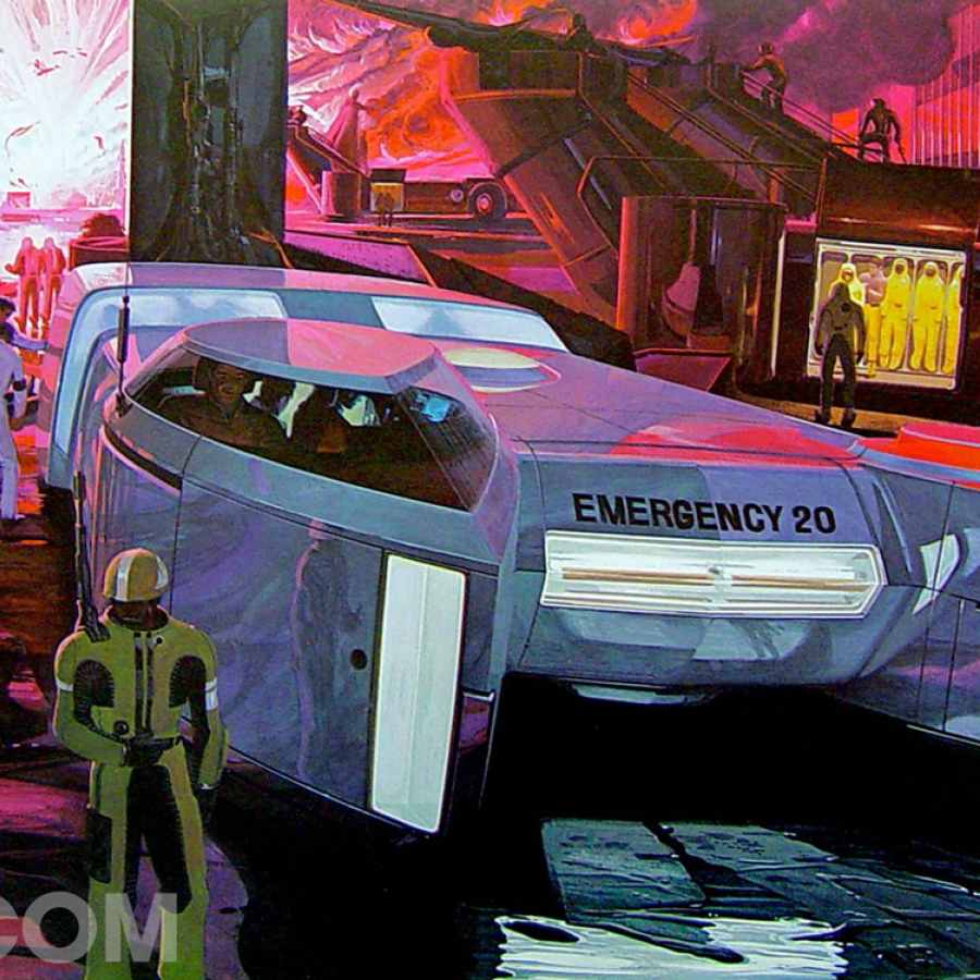 An homage to Syd Mead, the visual futurist behind Blade Runner