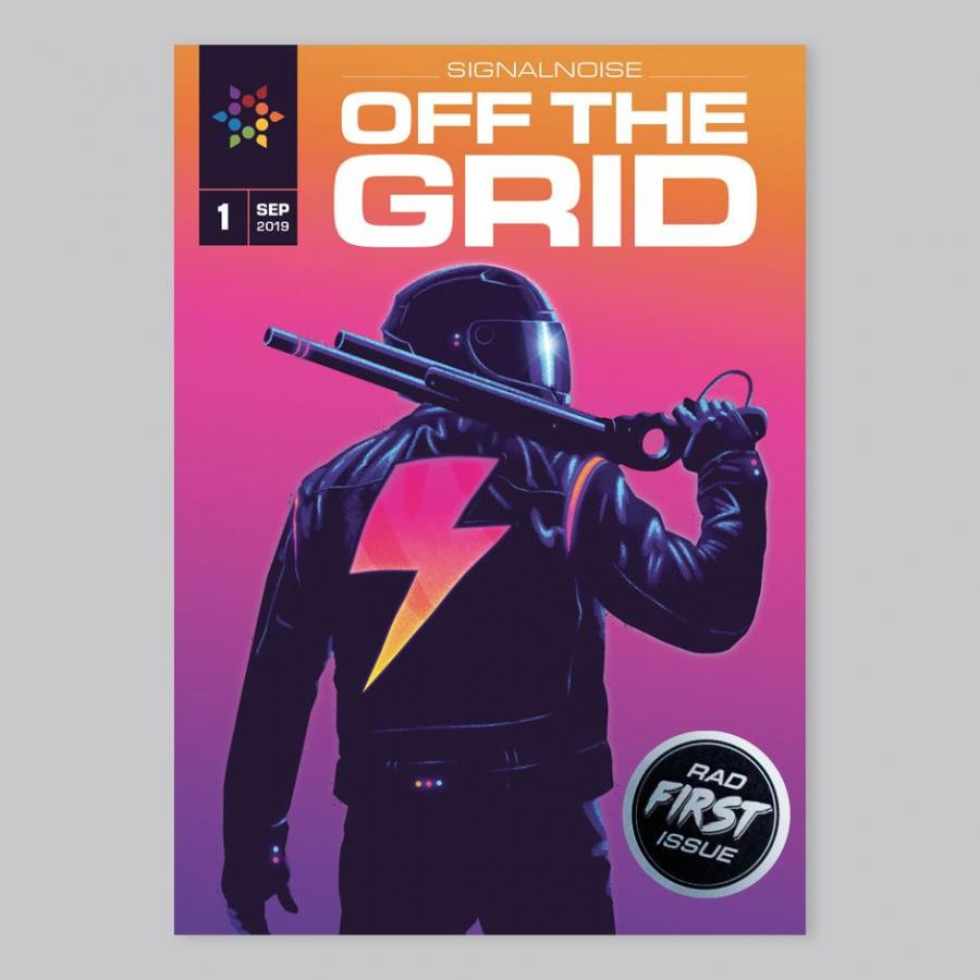 James White introducing the first OFF THE GRID issue ⚡