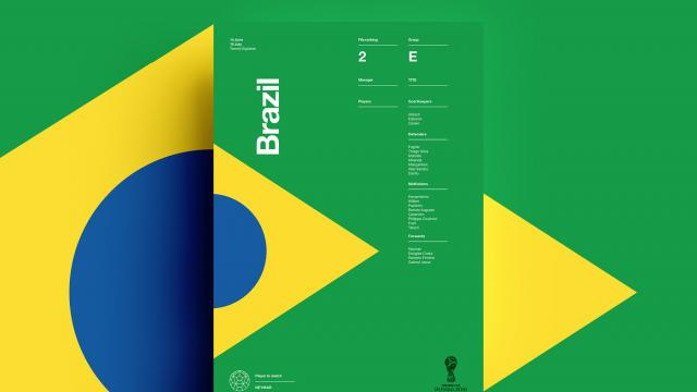 2018 FIFA World Cup Retro Posters