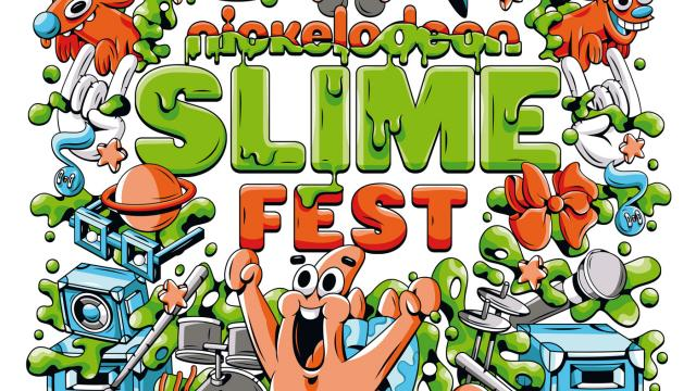 Illustrations, Logos and Icons for Nickelodeon's Slime Fest