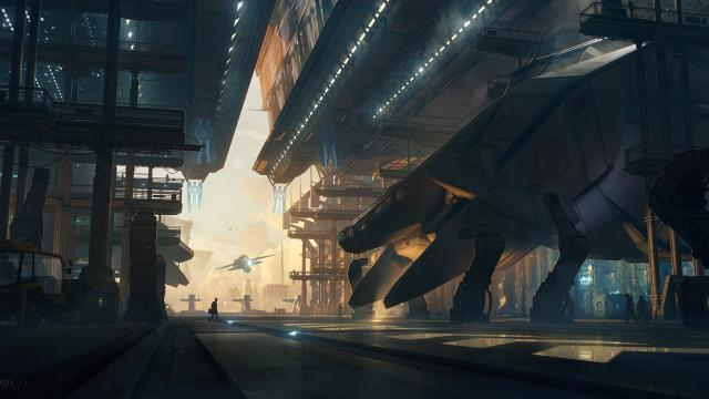 Incredible Digital Art Work of Bastien Grivet