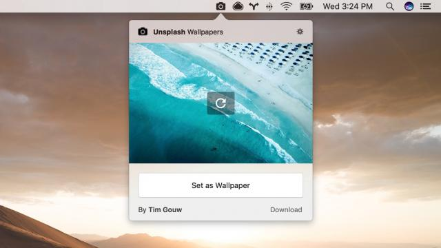Cool App: Unsplash Wallpapers for Mac and Android