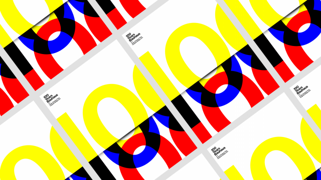 Poster Design Collection - 100 Years Bauhaus