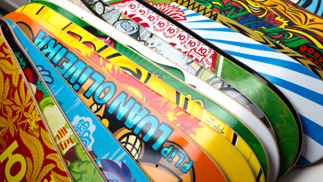 Skateboard Designs by Konstantin Shalev