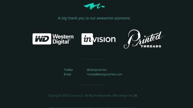Web Design: Footer References