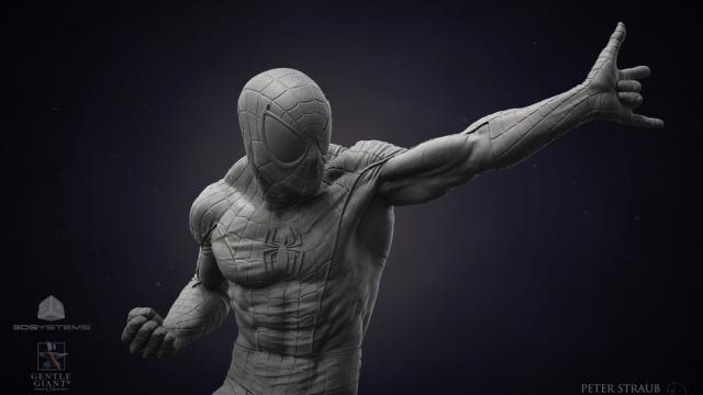 Superb CG 3D Sculptures by Peter Straub