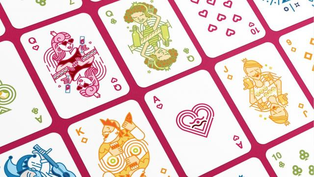 Ikano Playing Cards Design