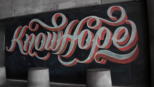 Awesome Lettering by Scott Biersack