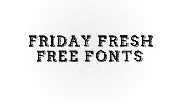 Friday Fresh Free Fonts - Airbag, Arsenal, ...