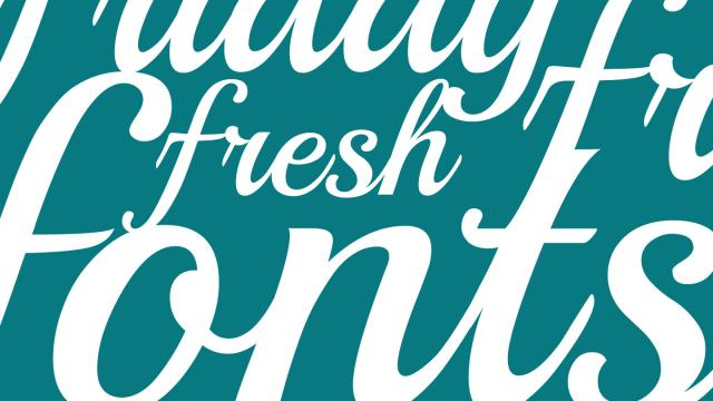 Friday Fresh Free Fonts - Playball, Graystroke, ...