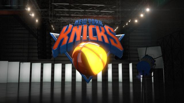 NBA 3D Logos by Andrew Parris