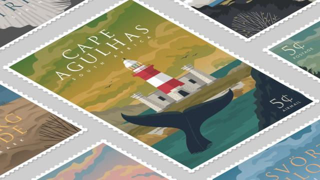 The Guardians of the Sea Illustration Series - We ❤️ lighthouses!