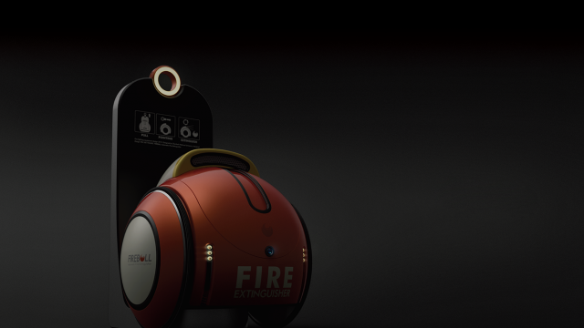 Fireball: Automatic Fire Extinguisher