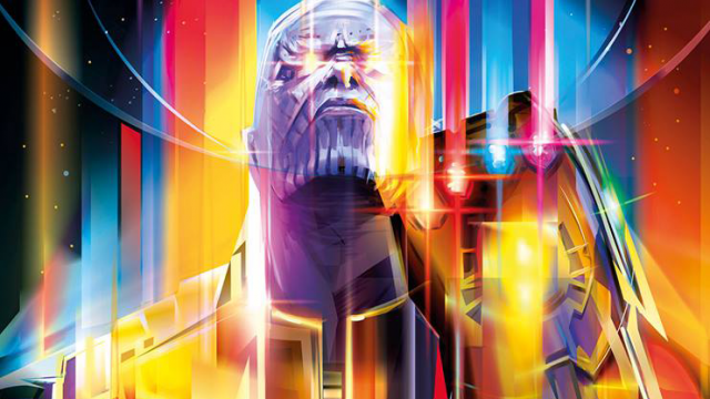 Avengers: Infinity War Magazine Cover Design For Empire