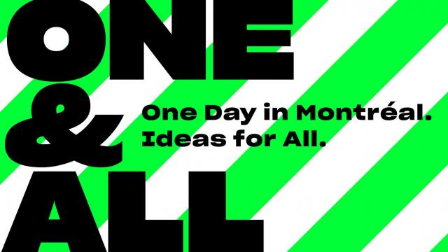 One & All: 1-day Festival featuring Top Creative Minds
