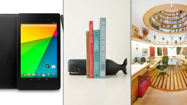 The Perfect Office - Google Nexus 7, LG Portable LED Projector and Office Ideas