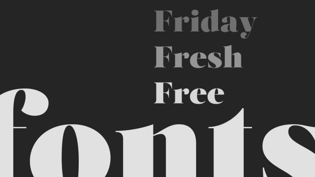 Friday Fresh Free Fonts - Salome, Aristocrat, ...