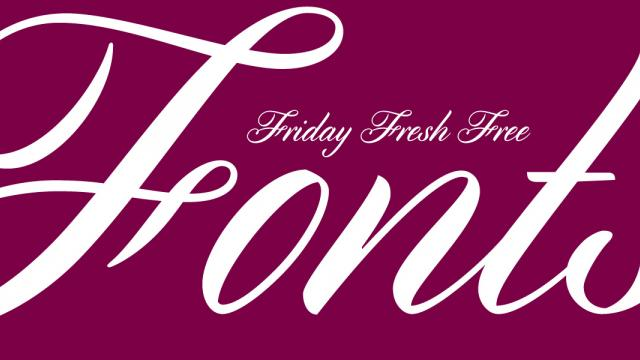 Friday Fresh Free Fonts - Marta, Cylburn, ...