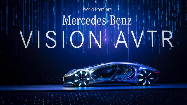 Mercedes-Benz unveiled its vision for the future of mobility: the VISION AVTR