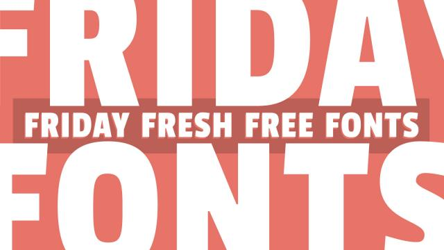 Friday Fresh Free Fonts - Passion One, Public Enemy, ...