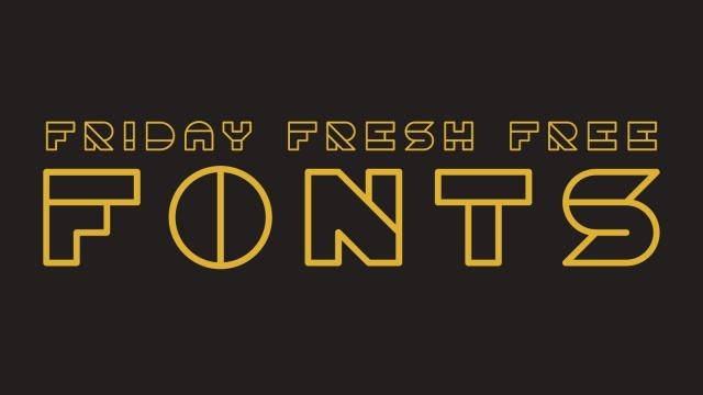 Friday Fresh Free Fonts -  Oami, Marta, ...