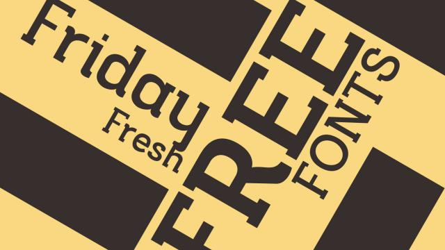 Friday Fresh Free Fonts - Musket, Snickles, ...
