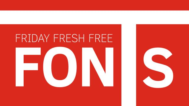 Friday Fresh Free Fonts - Hallo Sans, CM Tiempo, Clear Sans