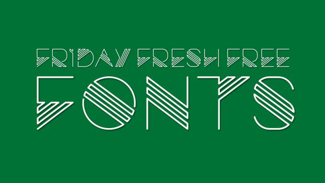 Friday Fresh Free Fonts - Cuprum, Exo 2, Razor