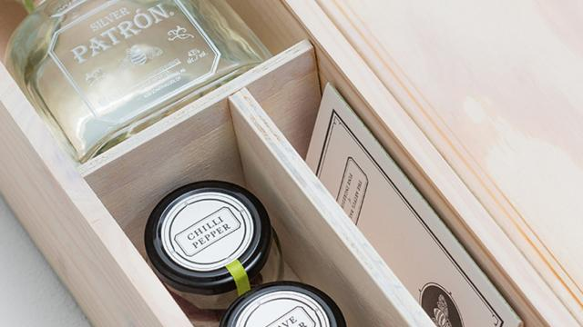 Patron Gift Packaging Design
