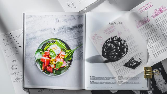 Editorial Design: Play, Cook, Kiss: Culinary Tricks