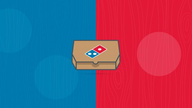 Interaction Design & Illustration: Domino's PizzAPP