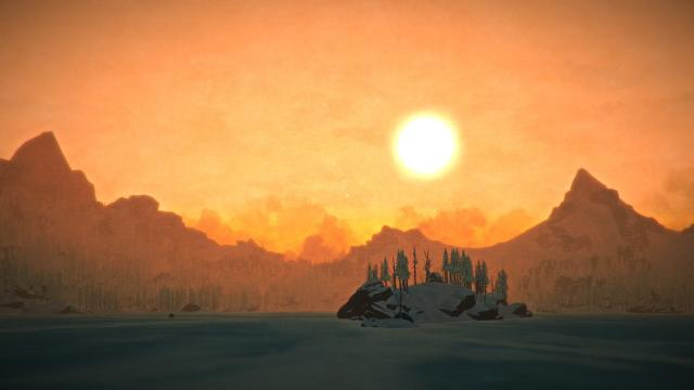 The Long Dark Game Beautiful Scenes