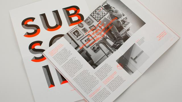 Editorial Design Inspiration: 99U Quarterly Mag No.6