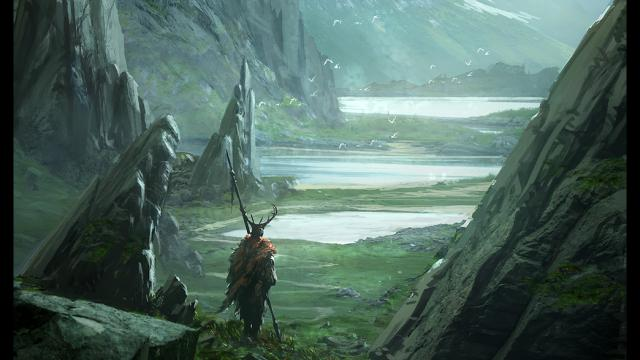 Concept Art Illustrations by Raphael Lacoste