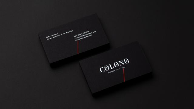 Beautiful Brand Identity for Colono