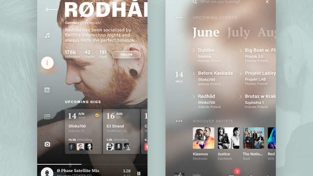 Interaction Design & UI/UX: 10Cool Projects with 10Clouds