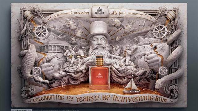 Bundaberg Rum Sculpting Case Study