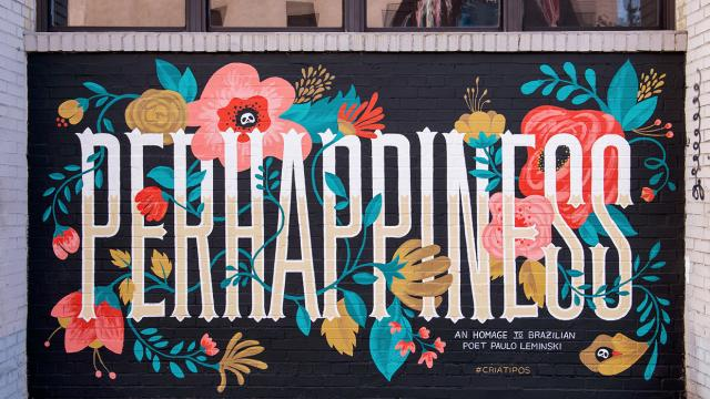Perhappiness Art Mural