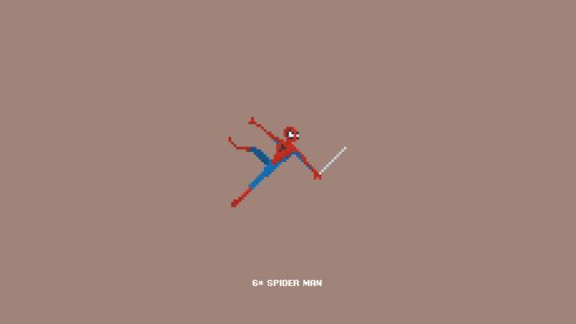 Marvel Pixel Art
