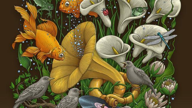 Unique Illustrations by Oleg Gert