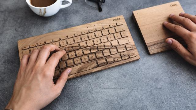 Product Design: Portable Wireless Keyboard by Orée Artisans
