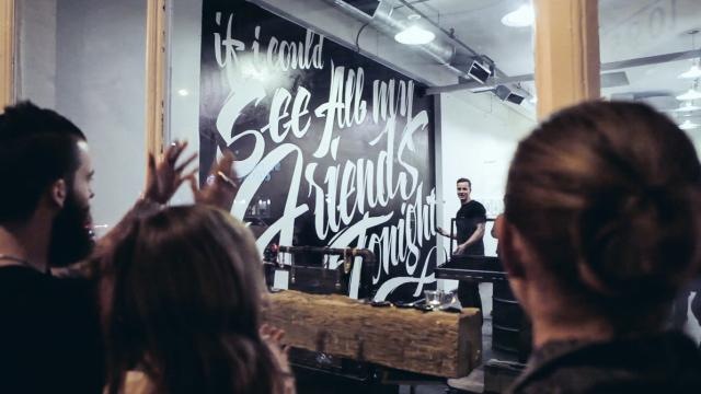 Vitaly Lettering Mural and Making Of