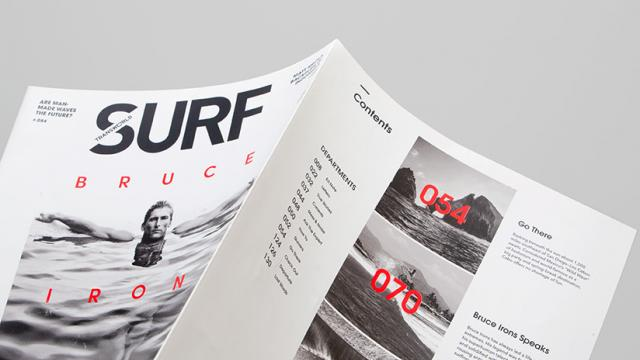 Editorial Design: TransWorld Surf Magazine