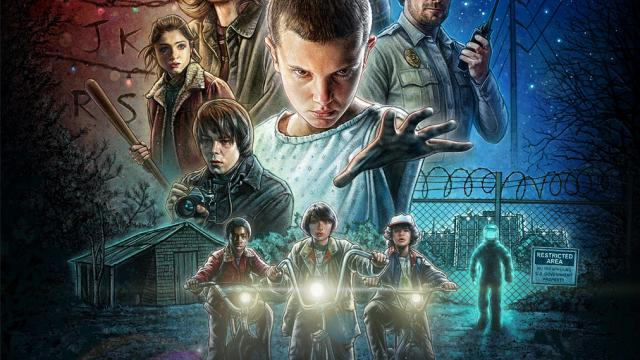 Stranger Things - Netflix Poster Art