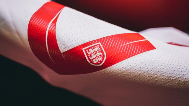 Typography: England's 2018 World Cup kit