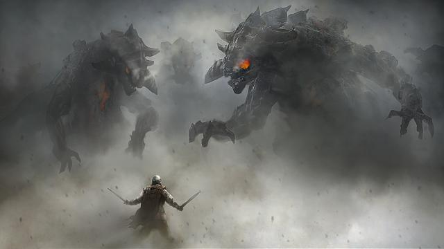 Badass 'Fall of Gods' Project by Rasmus Berggreen
