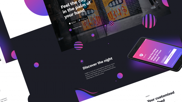 Interaction Design & UI/UX: Unight Experience