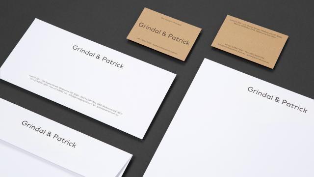 Branding and Visual Identity: Grindal & Patricka