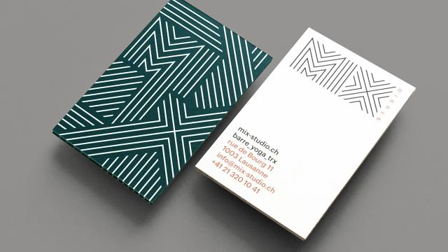 Graphic Design and Brand Identity for MIX Studio