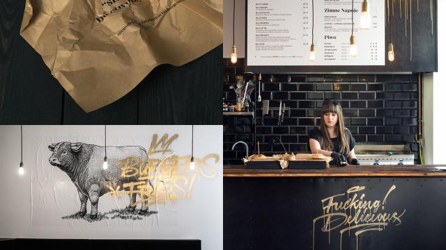Bó Burger and Fries Branding